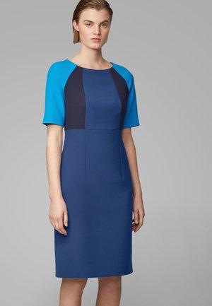 DOLOBUS - Shift dress - dark blue