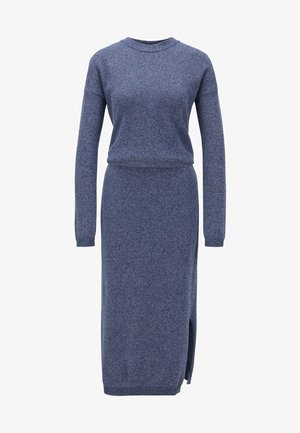 WYLDANA - Jumper dress - open blue