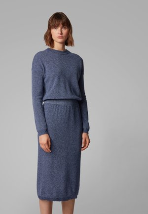 WYLDANA - Jumper dress - open blue