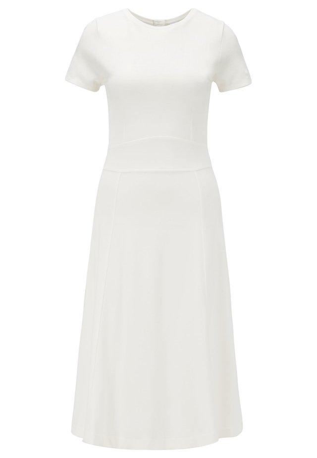 DUSCA - Korte jurk - natural