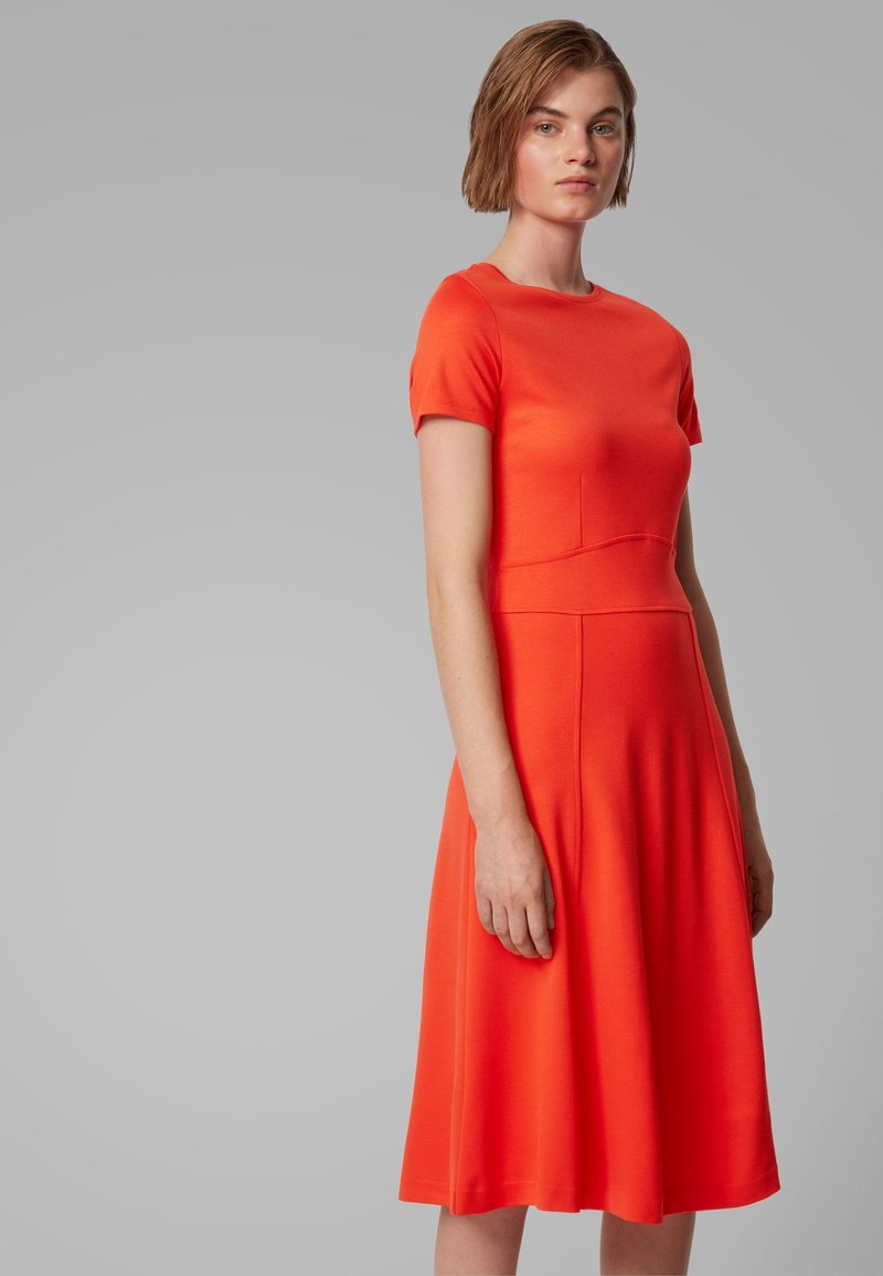 BOSS - DUSCA - Korte jurk - orange