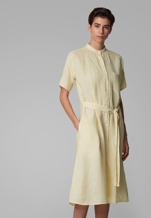 EKIMONO - Shirt dress - yellow