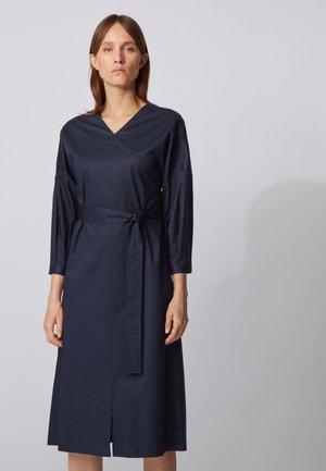 DUTAMA - Day dress - open blue