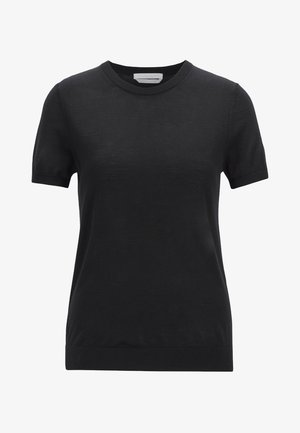FALYSSA - Basic T-shirt - black