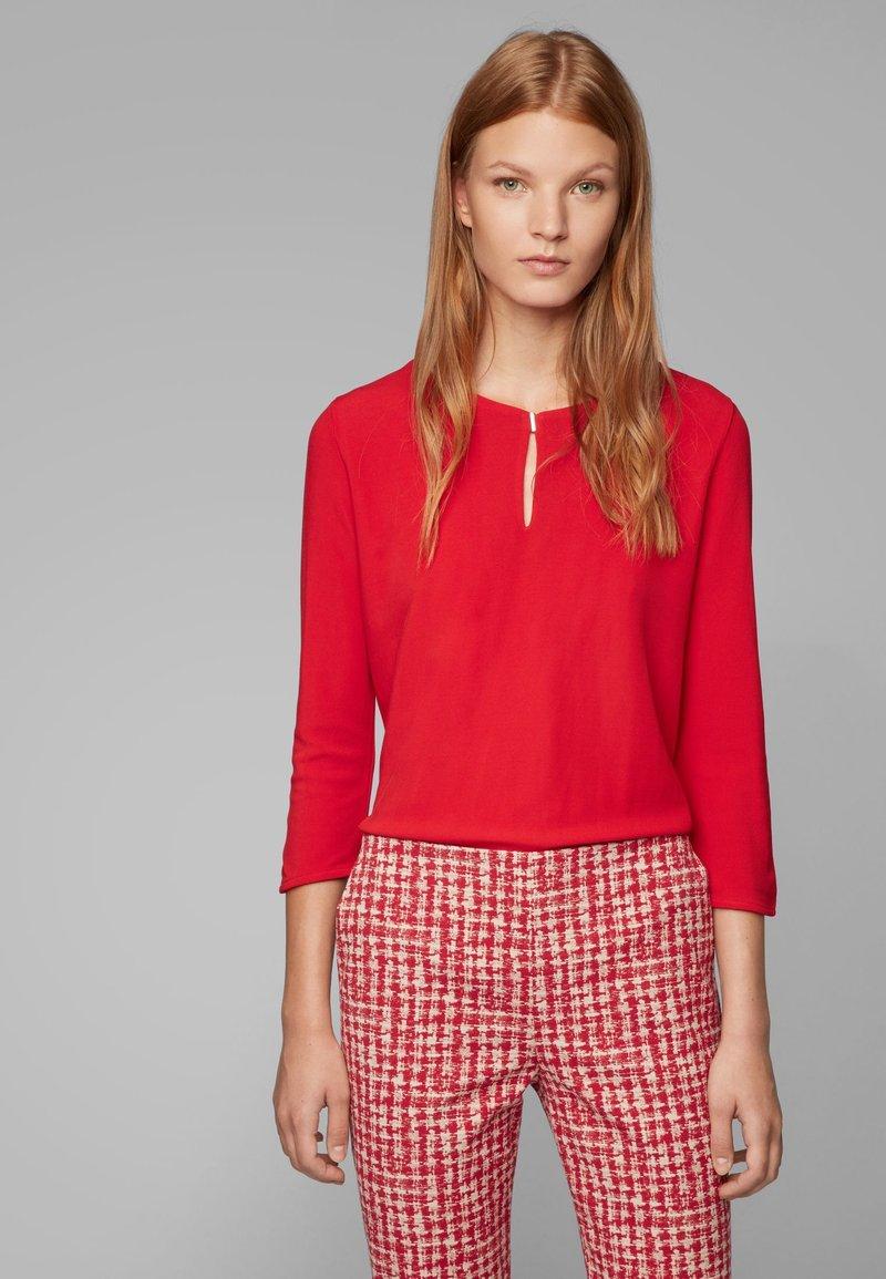 BOSS - EPINA - Langarmshirt - red