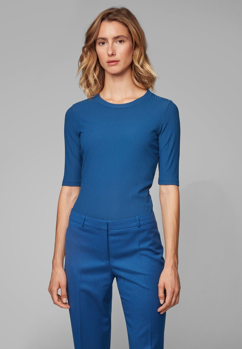 BOSS - EODARA - T-Shirt print - blue