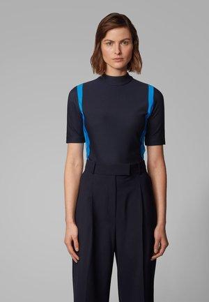 EDYA - Print T-shirt - open blue