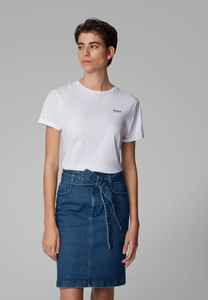 TESOLID - T-shirt basic - white