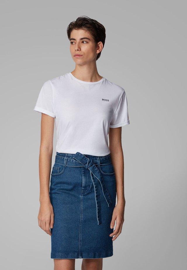 TESOLID - T-Shirt basic - white