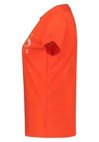 BOSS - TECATCH - T-shirt imprimé - orange - 2