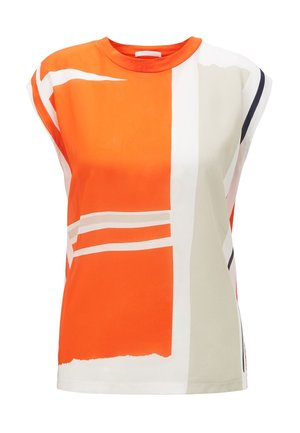 ELAIDA - Blouse - white/orange
