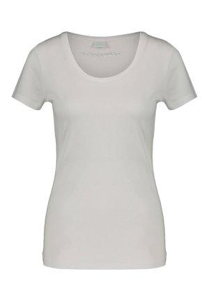 """BOSS DAMEN T-SHIRT """"TIGREAT"""" - Basic T-shirt - weiss"""