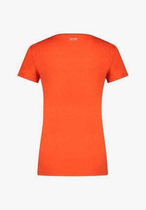 "BOSS DAMEN T-SHIRT ""TIGREAT"" - Basic T-shirt - orange"