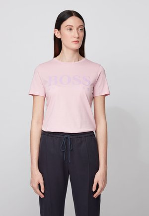TEMELLOW - Print T-shirt - light purple