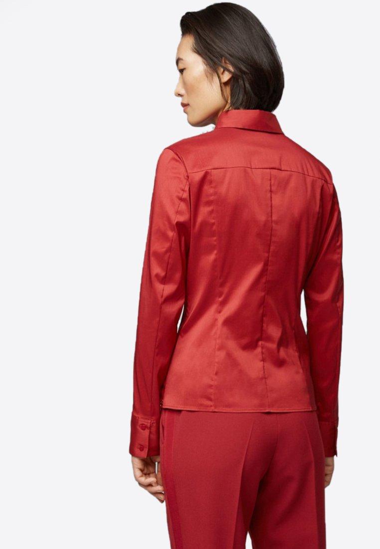 BOSS - BASHINA - Button-down blouse - dark red