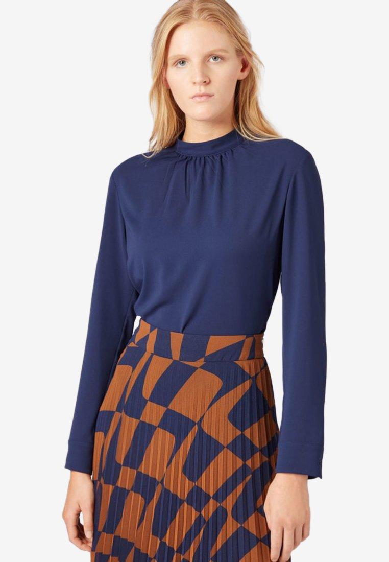 BOSS - BAJANIA - Bluse - dark blue