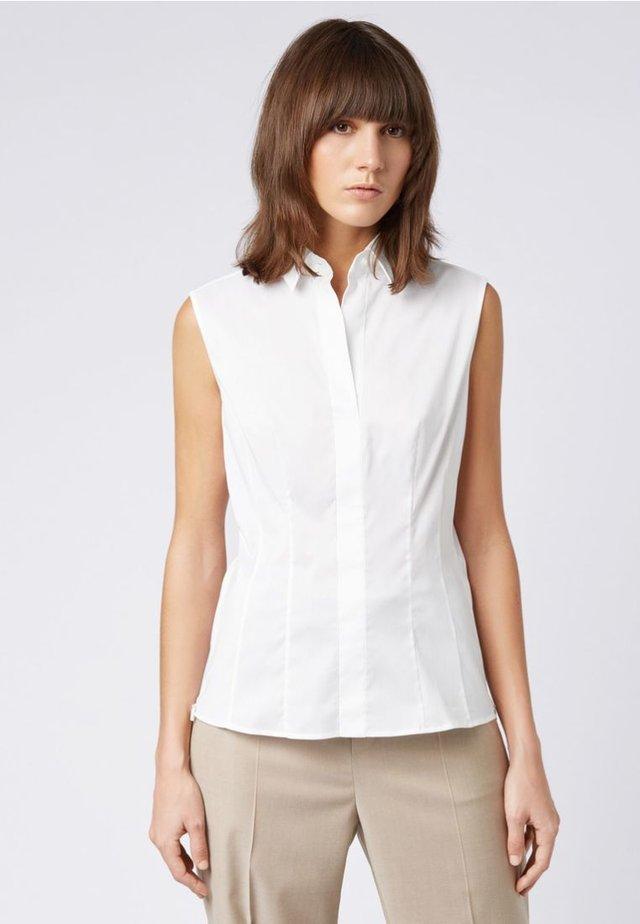 BASHAVIA ohne Ärmel Slim Fit - Bluse - white