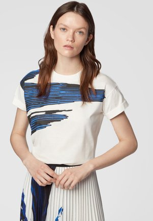 EVICA - T-shirt con stampa - white