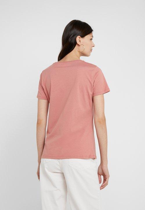 najlepszy BOSS TEPAPER - T-shirt z nadrukiem - pink Koszulki i Topy BBYG-OD3