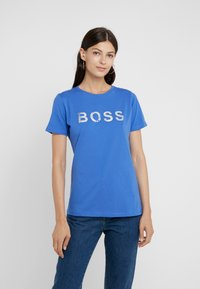 BOSS - TEPAPER - Printtipaita - royal blue - 0