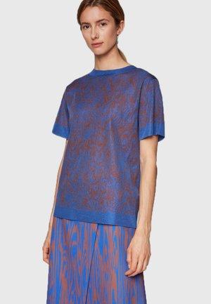 FELICAIA - T-shirt print - blue