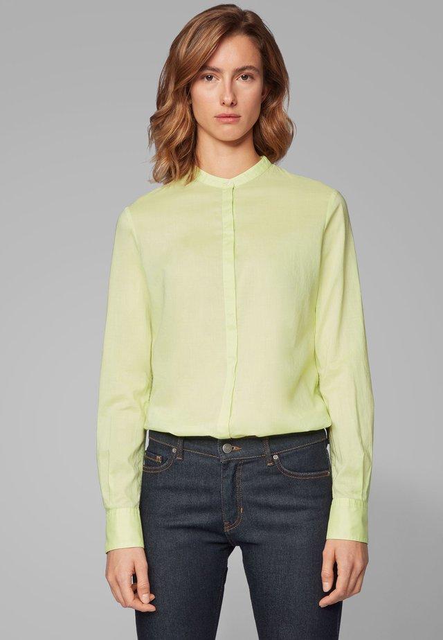 EFELIZE_17 - Button-down blouse - light green