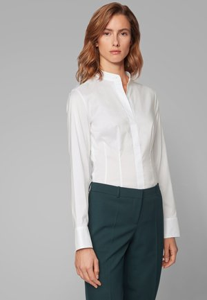 BASHILA - Button-down blouse - white