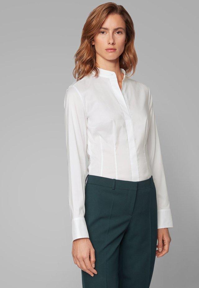 BASHILA - Button-down blouse - white