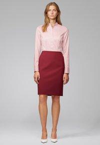 BOSS - BASHILA - Button-down blouse - light pink - 1
