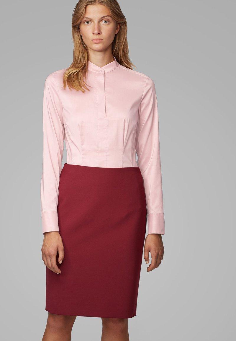 BOSS - BASHILA - Button-down blouse - light pink