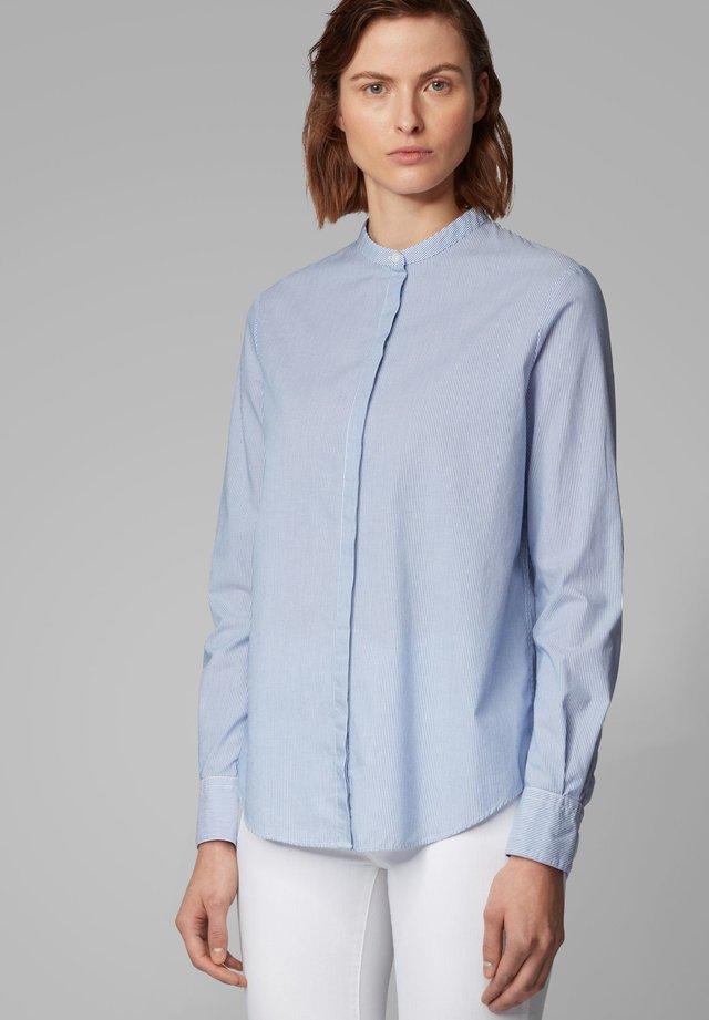 EFELIZE_17 - Button-down blouse - dark blue