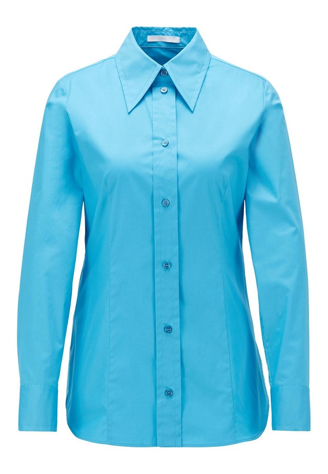 BAVIDBO - Button-down blouse - blue