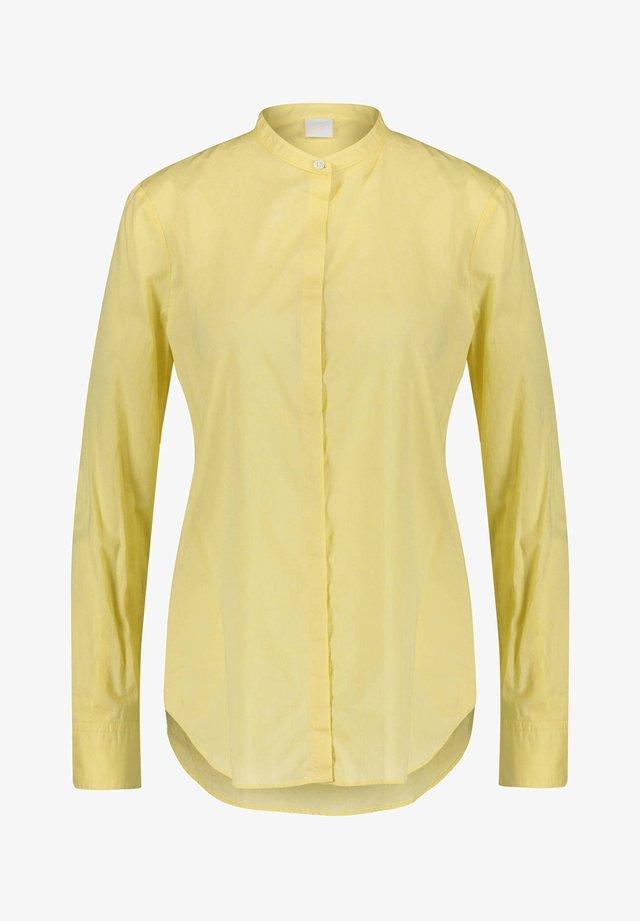 """BOSS DAMEN HEMDBLUSE """"EFELIZE"""" LANGARM - Button-down blouse - yellow"""