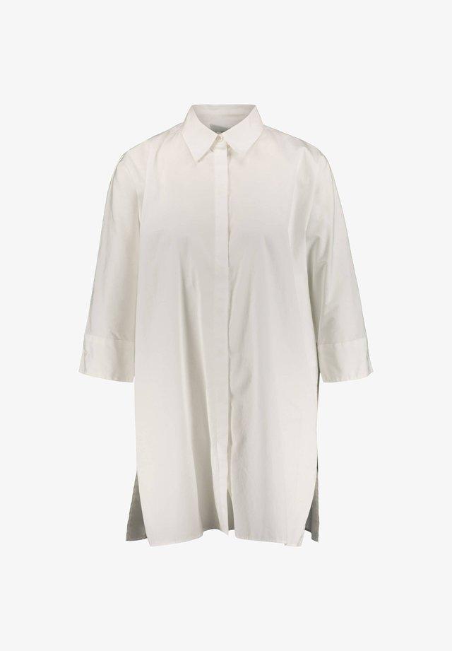 "BOSS DAMEN BLUSE ""ERILDA"" 3/4-ARM - Button-down blouse - white"