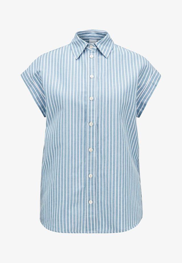 EMIRTA_1 - Button-down blouse - blue