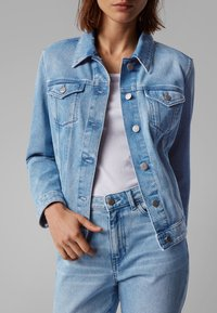 BOSS - J90 GHENT - Denim jacket - blue - 4