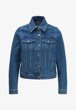 J90 COMPTON - Denim jacket - dark blue