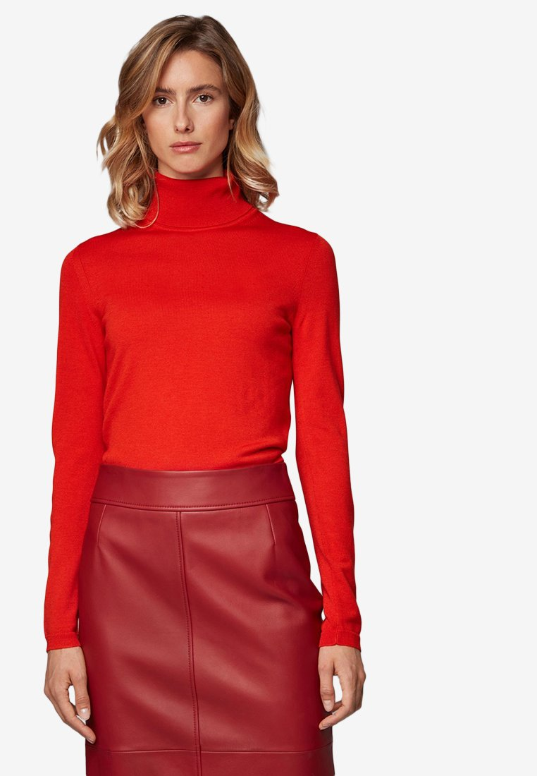 BOSS - FAMAURIE - Strickpullover - red
