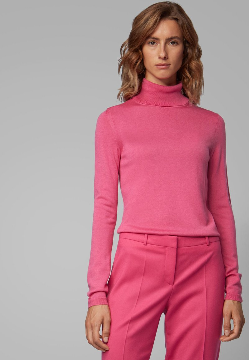 BOSS - FAMAURIE - Strickpullover - pink