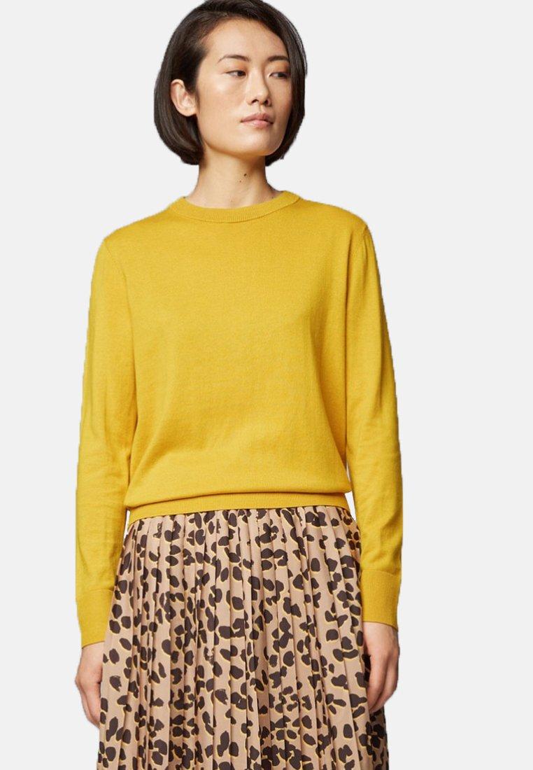 BOSS - IBINNIS - Strickpullover - dark yellow