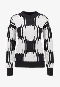 BOSS - Strickpullover - black/white - 3