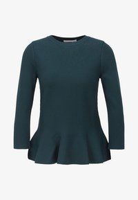 BOSS - Strikpullover /Striktrøjer - dark green - 3