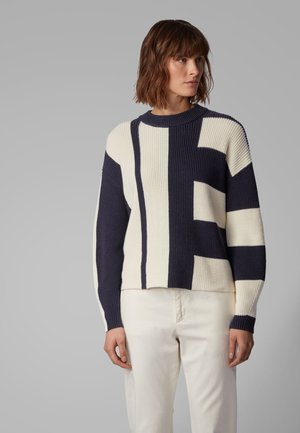 ISOLEAH - Strickpullover - open blue