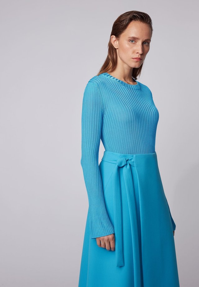 FANNELISE_FS_C - Strickpullover - turquoise