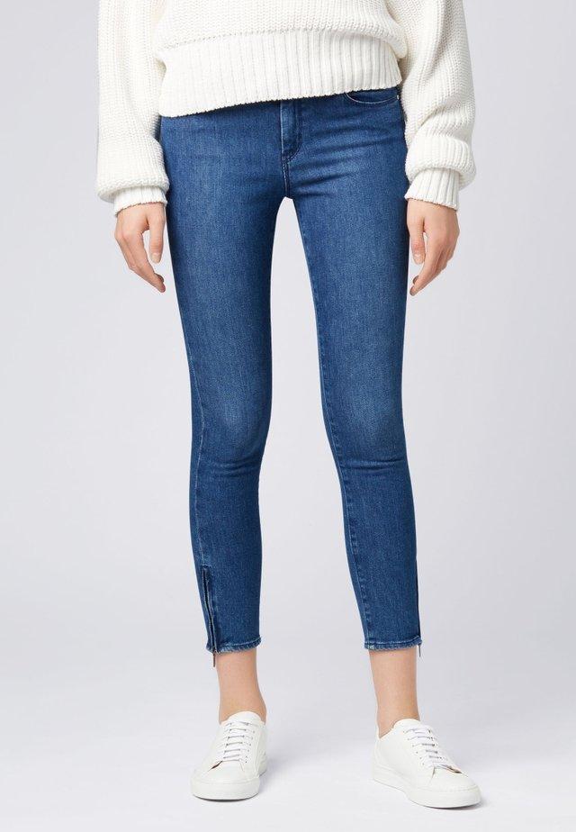 J15 NAFICE ZIP - Jeans Skinny Fit - blue