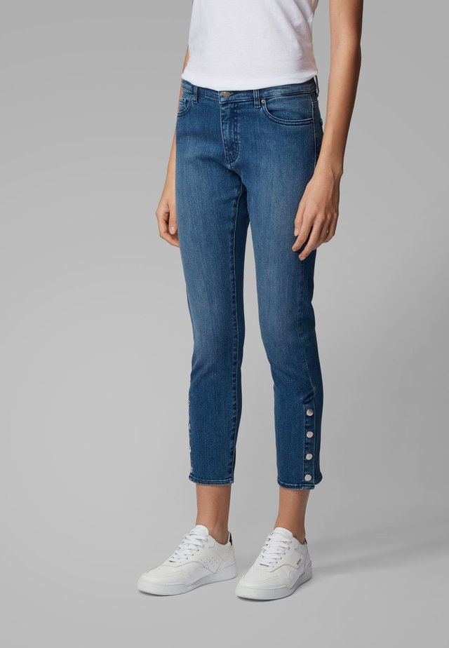J21 IRVINE - Slim fit jeans - turquoise