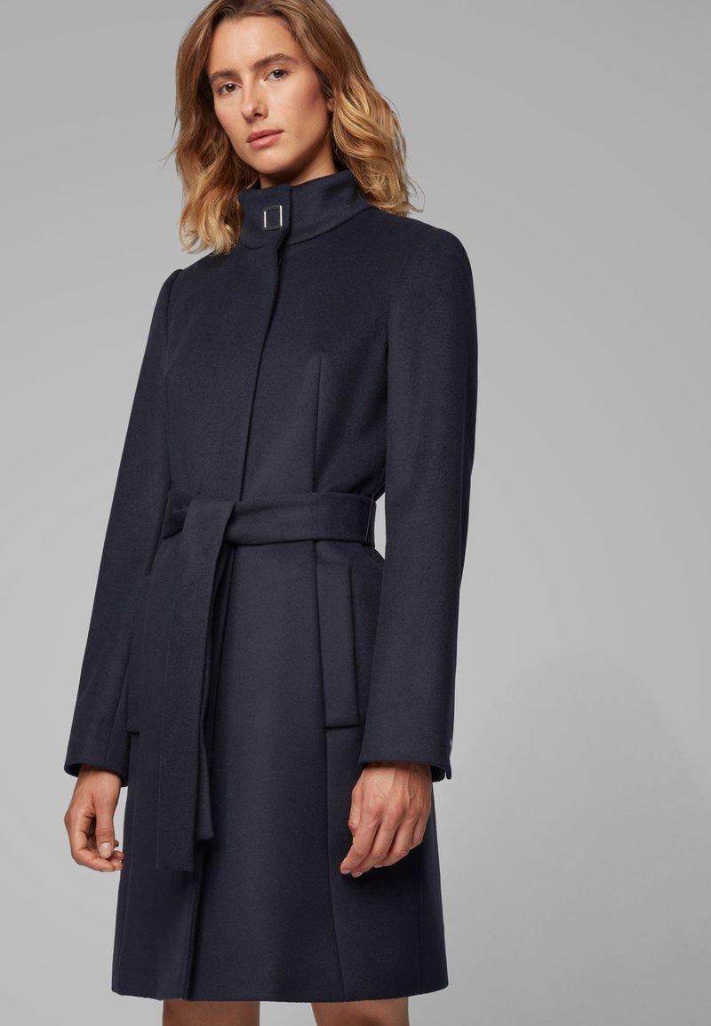 BOSS - CASENOSA - Cappotto classico - open blue