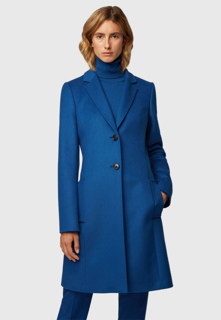 BOSS - REGULAR FIT - Classic coat - blue