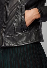 BOSS - JAMLY - Leather jacket - black - 4