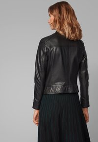 BOSS - JAMLY - Leather jacket - black - 2